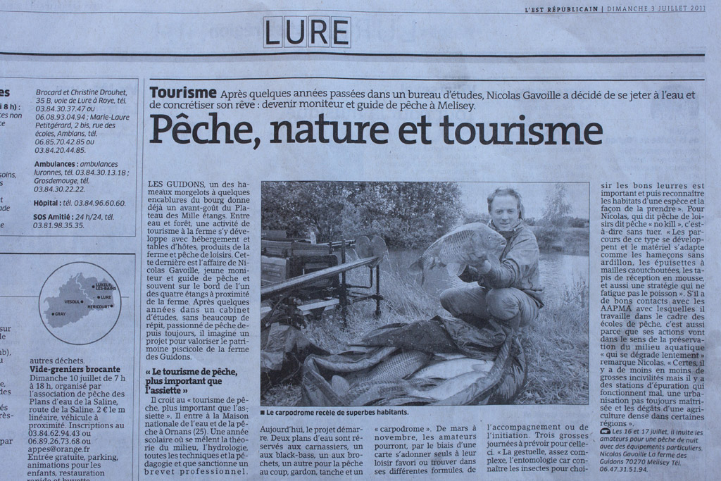 article presse carpodrome